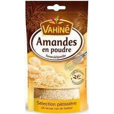 Vahine Amandes en Poudre French Almond Powder 125 grams (Baking Milk Almond)