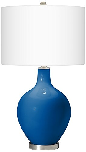 Hyper Blue Ovo Table Lamp (Blue Ovo Table Lamp)
