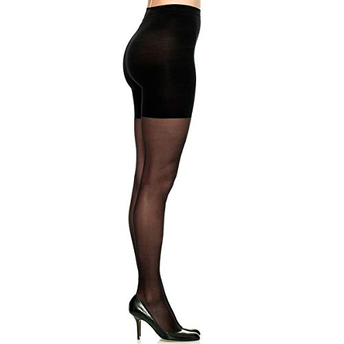 Spanx Star Power Stand-Out Lurex Backseam Shaping Sheers 2354
