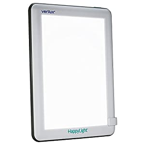 Verilux HappyLight Lucent 10,000 Lux LED Bright White Light Therapy Lamp from Verilux