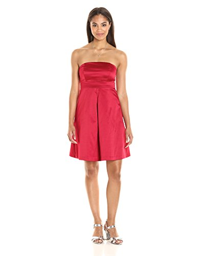 paris-sunday-womens-straplesss-sateen-shift-dress-scarlet-small