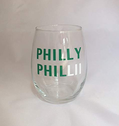 PHILLY PHILLII Stemless Wine Glass