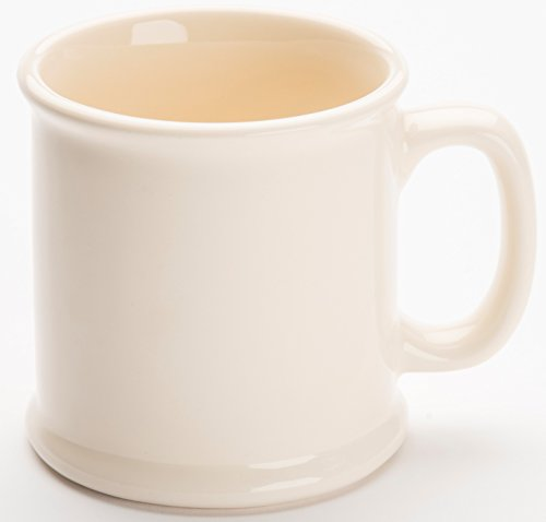American Mug Pottery Ceramic Coffee Mug, Made in USA, Ivory, 16 oz - Pack of (American Pottery)