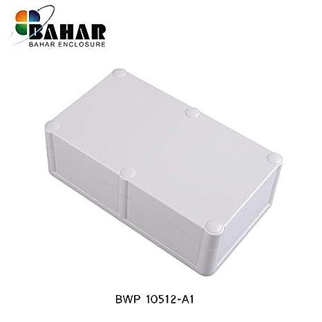 Bahar Enclosure 100*283*59 mm Elektrische Anschlussdose Wei/ß Wasserdichte Geh/äuse Waterproof Junction Box White IP68 Kunststoffgeh/äuse Plastikgeh/äuse Project Box BWP 10021-A1