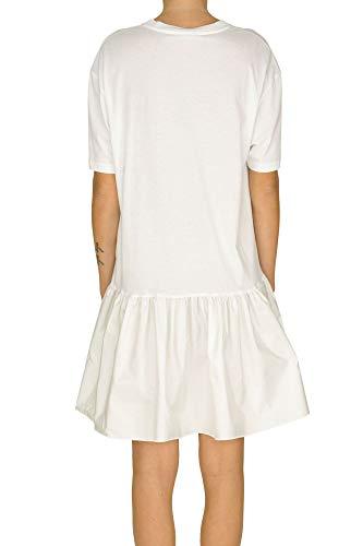 Mccartney Stella Robe Blanc Mcglvs0000005098e Coton Femme CwAqrwgd
