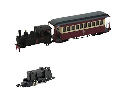 Tetsudou Collection Narrow Gauge 80 Nekoya Line Steam Engine + Passenger Car (Old paint colors) Total Set