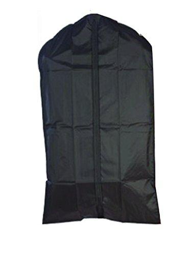(Graduation Gown Bag Priest Robe Bag, Clergy & Vestment Garment Bag, Cassock/Albs Protection, Nylon, Black, Waterproof, XL! 72