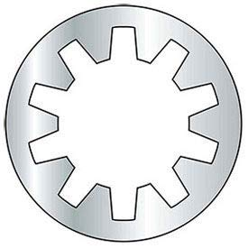 #3 Internal Tooth Lock Washer - Grade 2 - Steel - Zinc - Pkg of 100, (Pack of 30) (BFA33)