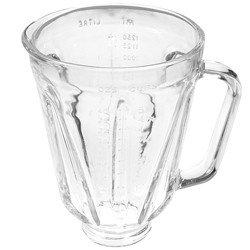 Hamilton Beach Replacement Blender Jar (Round Glass Blender Jar Fits Hamilton Beach Blenders)