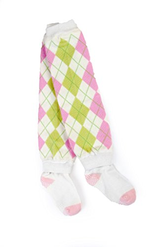 Pink And Green Argyle - 8
