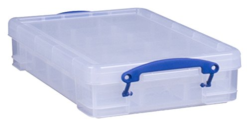 Really Useful Storage Box 4 Litre with 2xhobby div Ref 4C+DIV2HOB
