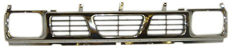 OE Replacement Nissan/Datsun Pickup Grille Assembly (Partslink Number NI1200116) - Nissan Pickup Grille Assembly