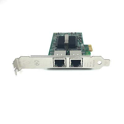 Intel 82575EB Dual Port PCI-EX1 E1G42ET//EF//E1G44ET Gigabit Server Adapter
