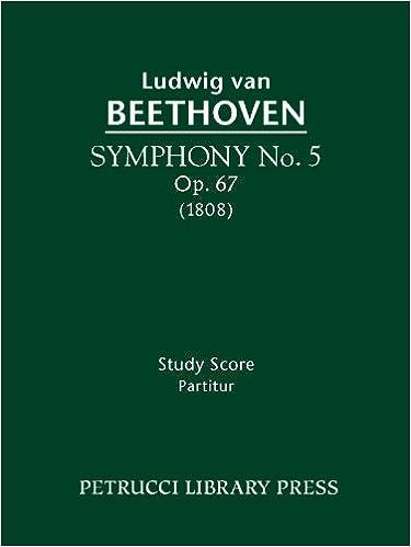 Symphony No. 5, Op. 67 - Full score (Beethovens Werke, Serie