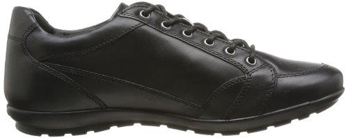 Negro D Black Black Negro Cuero C9999 para U Geox C9999 de Zapatos Hombre Symbol Pqw1nxa4T