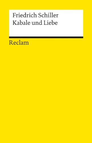 Kabale Und Liebe (German Edition)