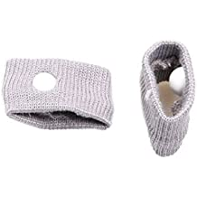 Anti-Nausea Wristbands by PTD for Motion Sickness & Morning Sickness- Gray (Pack of 2)