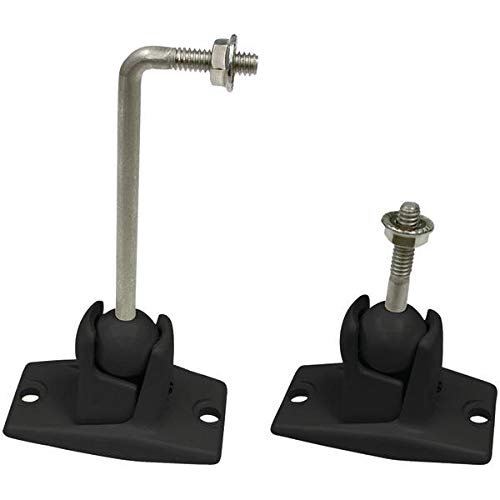 OmniMount 10.0 Wall and Ceiling Audio Mount - Black with Sta