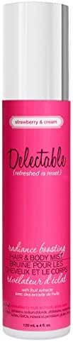 Delectable by Cake Beauty Radiance Boosting Strawberry & Cream Hair/Body Mist