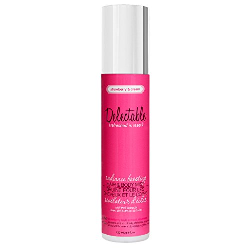Delectable by Cake Beauty Radiance Boosting Strawberry & Cream Hair/Body ()