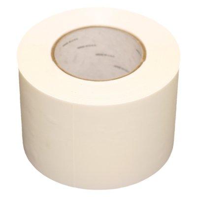White Poly Tape 4''x55yds (12 Roll Case / $12.00 rl)