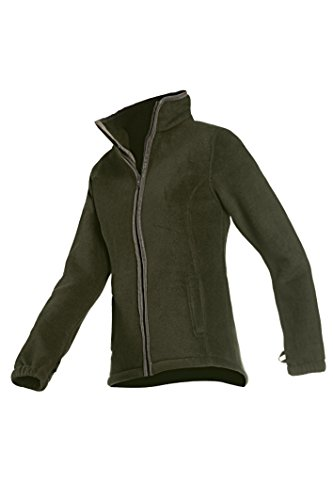 giacca Green Sarah pile Baleno wine jacket in rosso grande SwOxqHd