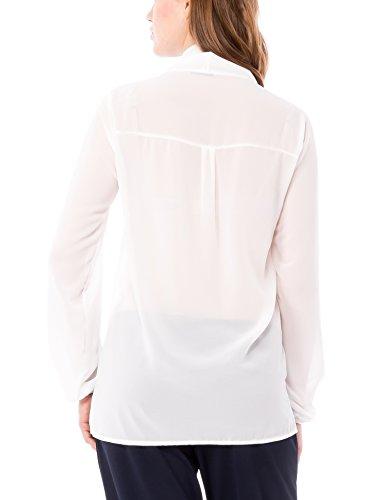 Solo Capri Camicia, Camisa para Mujer Crema