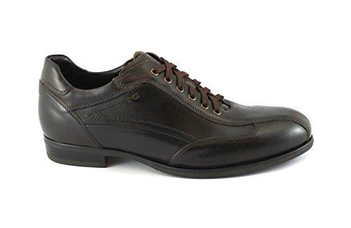 Nero Giardini Black Gardens 05223 Braun Lederriemen Mann Sportlich Elegante Schuhe Marrone