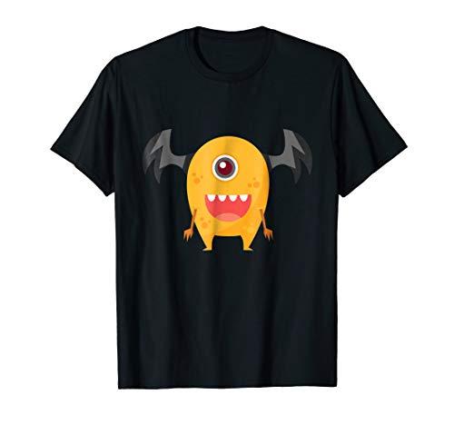Funny Monster Halloween T-Shirt - Halloween Costume Gift -