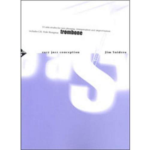 Advance Music Easy Jazz Conception for Trombone Book and CD by Advance Music