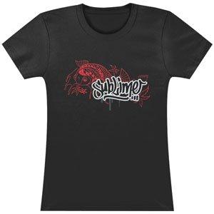 Sublime Koi - Sublime Koi Girls Jr Soft tee Small Black