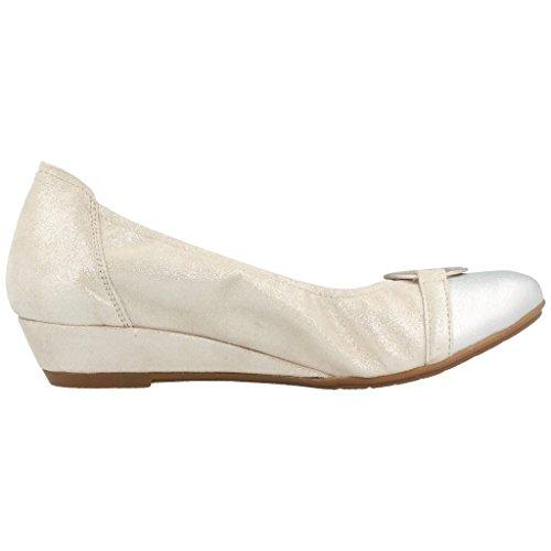 SABRINAS Zapatos Plateado Plateado para Mujer SABRINAS Plateado 44058 Mujer Bailarina Bailarina para Color Zapatos Modelo Marca H4gwx