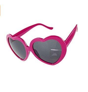 de Gafas de con corazón rojo de sol melocotón Youarebb forma color xfqdXXw