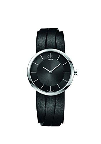 CK Damen-Armbanduhr XS Analog Quarz Leder K2R2S1C1
