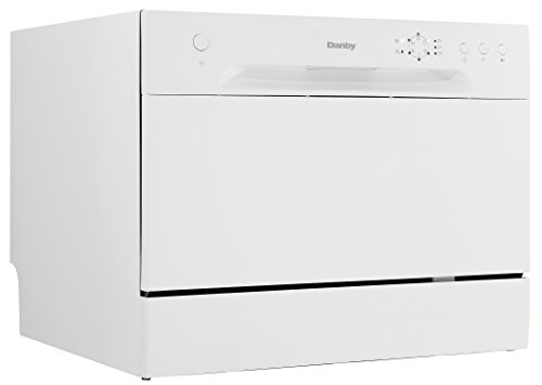 (New Model) Danby DDW621WDB Countertop Dishwasher, White