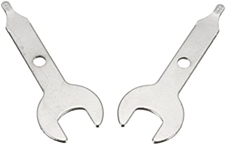 2PCS 3//8 Inch Collet Wrench Spanner Nut Tool Rotary