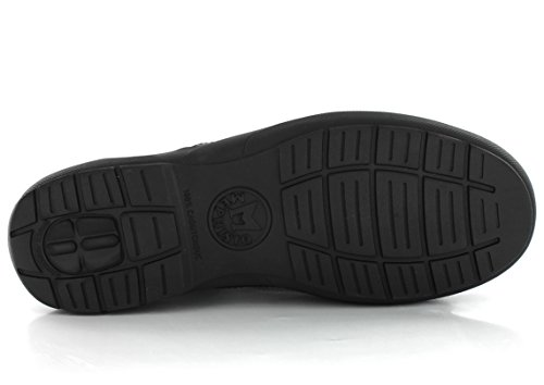 Mephisto Herren-Schuhe Mokassins Adelio schwarz Leder 3800, schwarz - schwarz - Größe: 39 EU