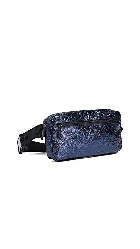 Olympia Belt (KENDALL + KYLIE Women's Olympia Waist Bag, Navy Metallic, One Size)