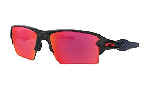 Oakley Flak 2.0 XL Matte Black MLB Sunglasses (Boston Red ()
