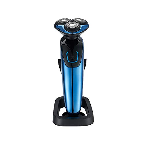 Shaver for Men Waterproof Wet and Dry, 2019 Updated Version Electric Razor Cordless Rechargeable 3D Rotary with LCD Display