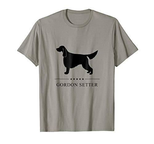 Gordon Setter Shirt: Black Silhouette (Gordon Setter Silhouette)
