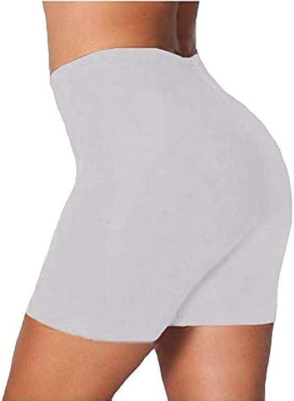 UK Women/'s Plain Gym Active Summer Cycling Shorts Stretch Basic Summer Hot Pants