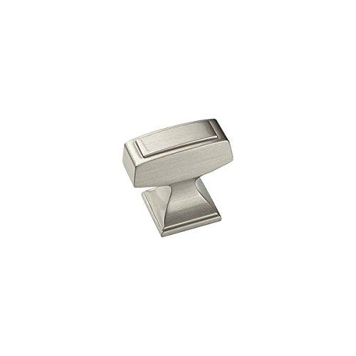 Amerock BP53029G10 1-1/4-Inch Nickel Mulholland Cabinet Knob - Quantity 25
