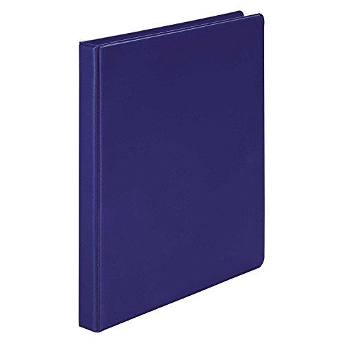 Wilson Jones Round Ring Binder, 368, Basic, 1/2 Inch, Blue (W368-13NBL) ()