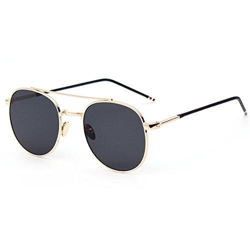 EYSHADE BSG800043C1 UV400 PC Lens Fashion Sunglasses,Metal Frames Non-Polarizer
