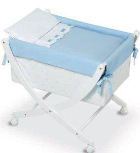 Bimbi Class–Baby, 68x 83x 76cm, weiß und blau