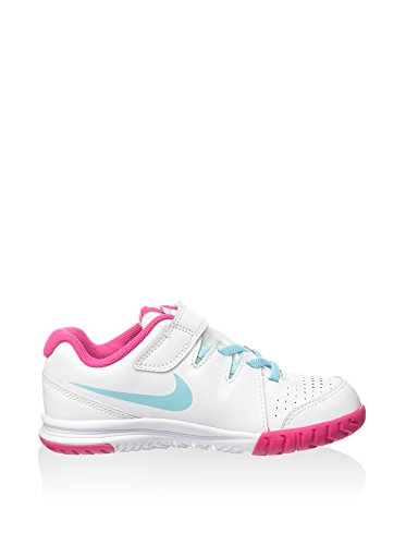 Nike - Vapor Court Psv - Couleur: Blanc-Bleu - Pointure: 30.0