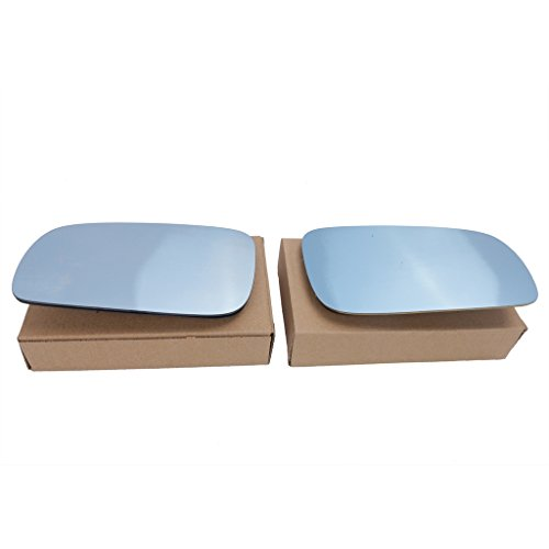 Jade onlines 1par azul Tinted climatizada vidrio de espejo para 99–04VW Golf Bora Jetta MK4Passat B5, Azul