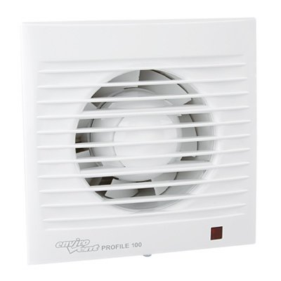 Very Quiet and Energy-Saving Ball Bearing EU Brand Quality since 1947 CATA E-150 GT B Fan with Timer 150 mm Glass Front 350 m3//St