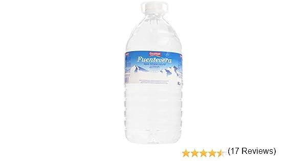 Gourmet - Fuentevera - Agua mineral natural - 8 l: Amazon.es ...